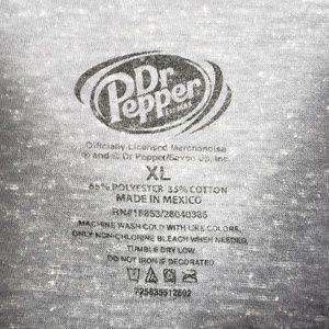 Dr Pepper Shirts - 🐢Drink Dr Pepper Retro Distressed T-shirt Size XL 14eeab22c